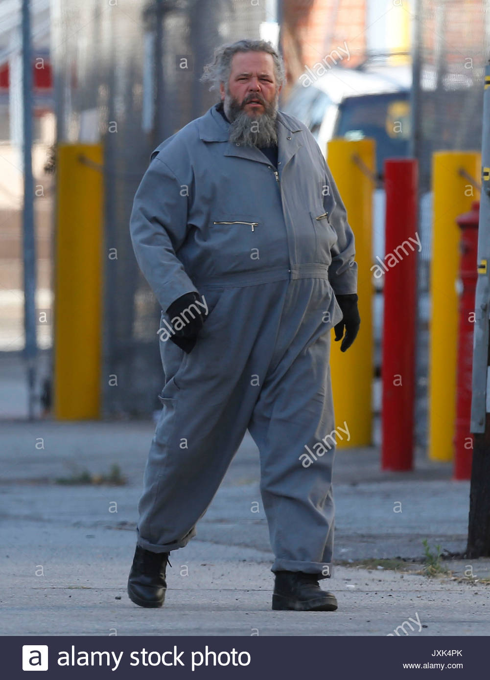 Mark boone junior sons of anarchy filming in downtown los angeles sons of anarchy filming in downtown los angeles kristyandbryce Choice Image