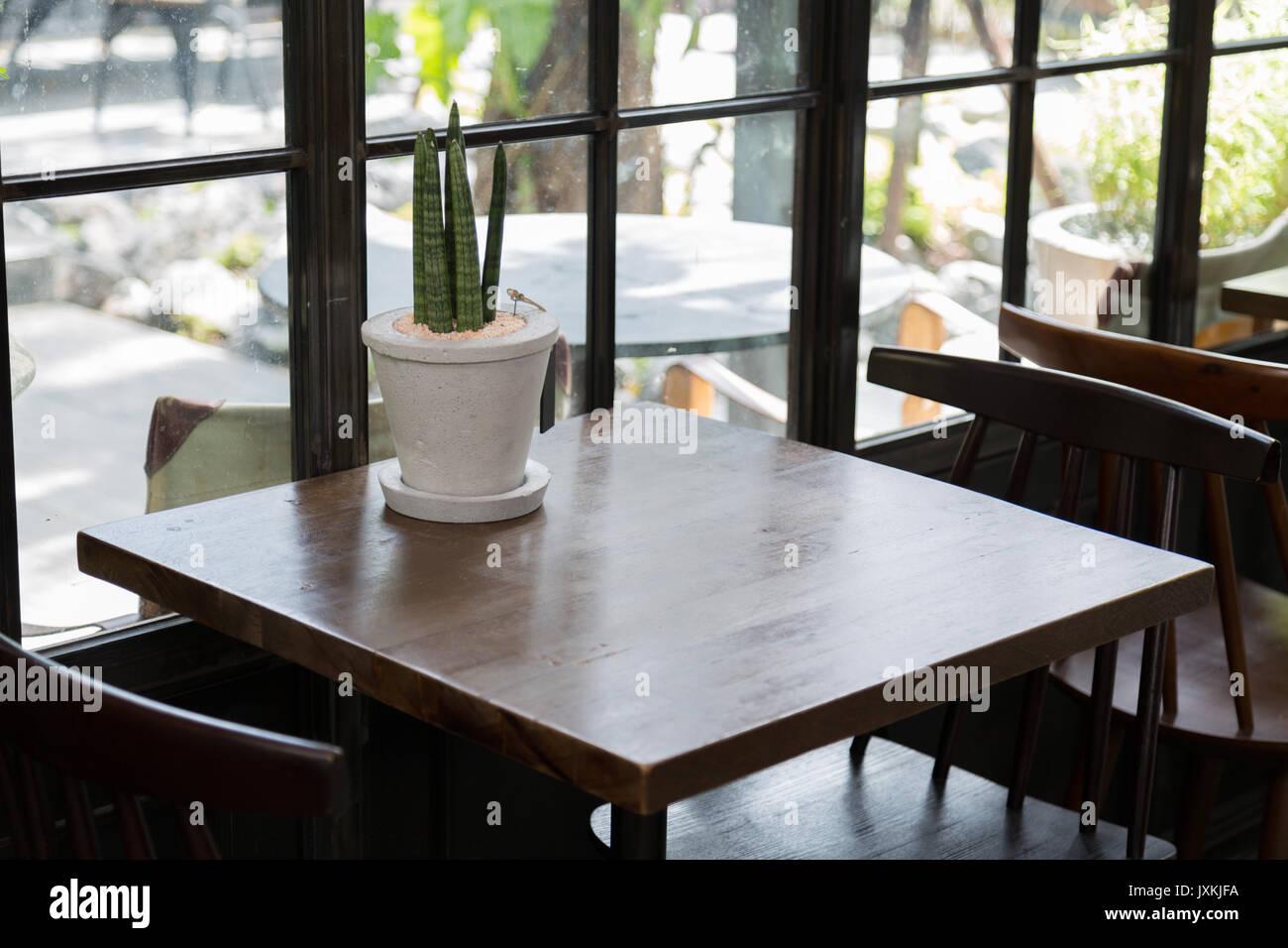 Fancy restaurant interior window stock photos fancy for Cuisine loft