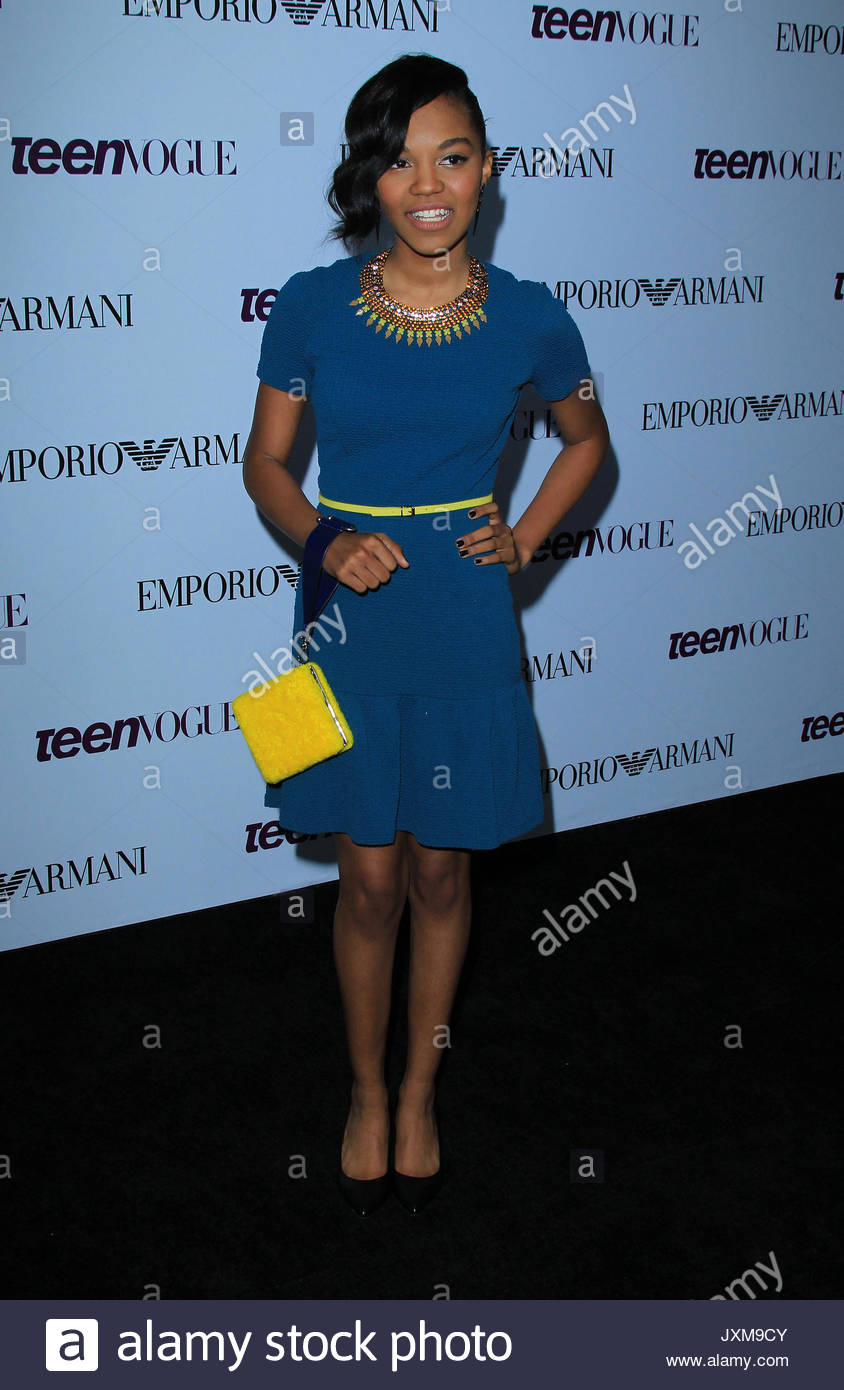China Anne McClain. 11th Annual Teen Vogue Young Hollywood Issue ...