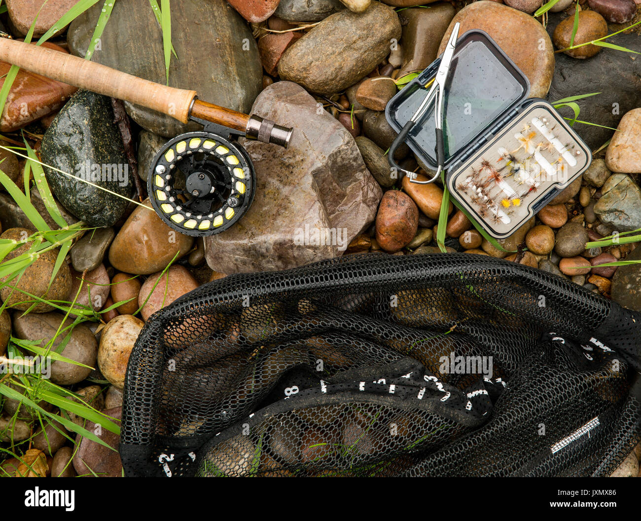 how to set up a fly fishing rod