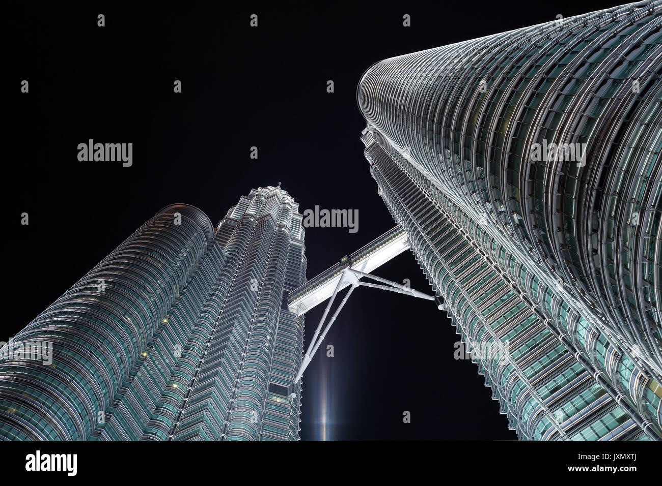 Close up perspective view from the bottom upwards on petronas towers close up perspective view from the bottom upwards on petronas towers kuala lumpur malaysia buycottarizona Gallery