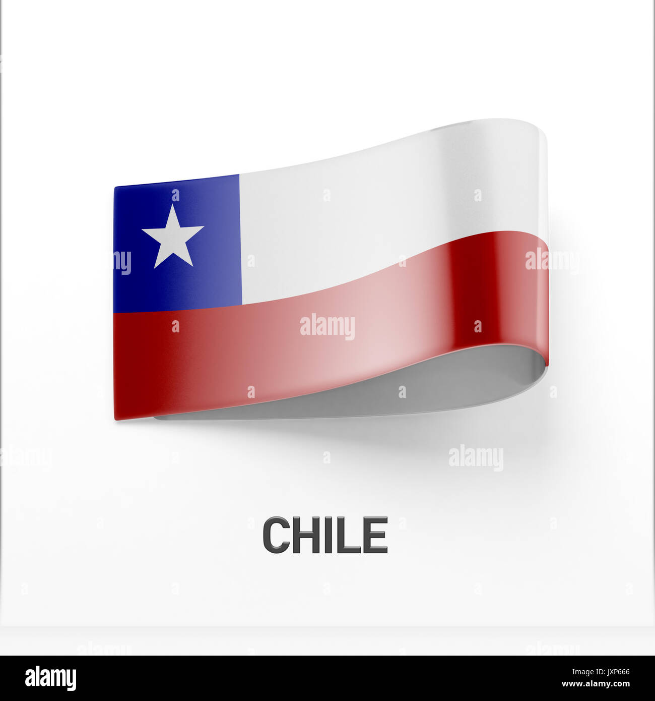 National flag chile in country stock photos national flag chile chile flag isolated on white background stock image biocorpaavc Images