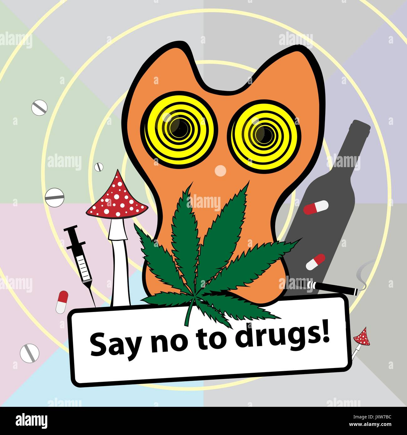 how to say no to drugs at a party