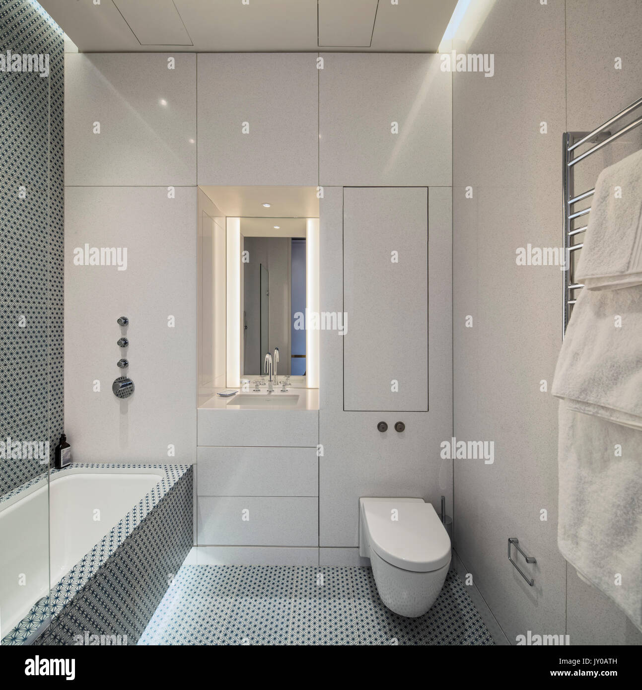 Bathroom Canaletto Apartments Penthouse London United Kingdom Stock Photo Royalty Free Image