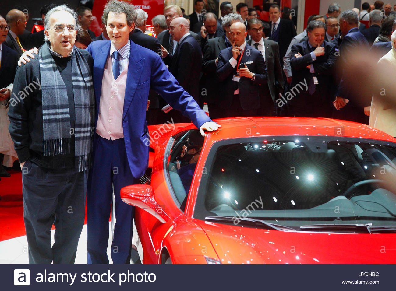 Sergio Marchionne Ceo Of Fiat Chrysler Automobiles And