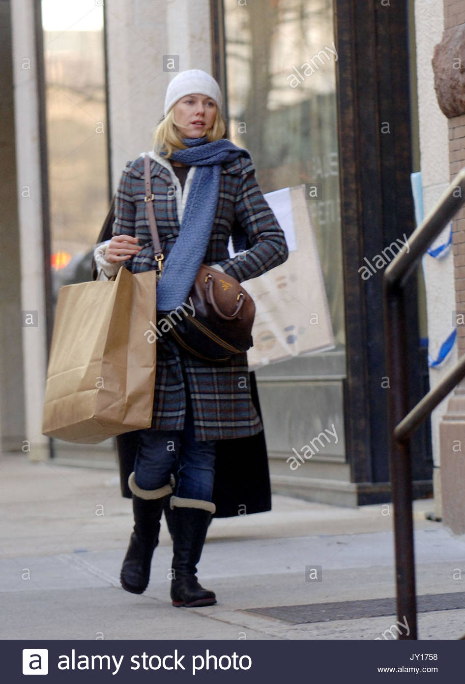 naomi watts and a friend go furniture shopping in new york city the