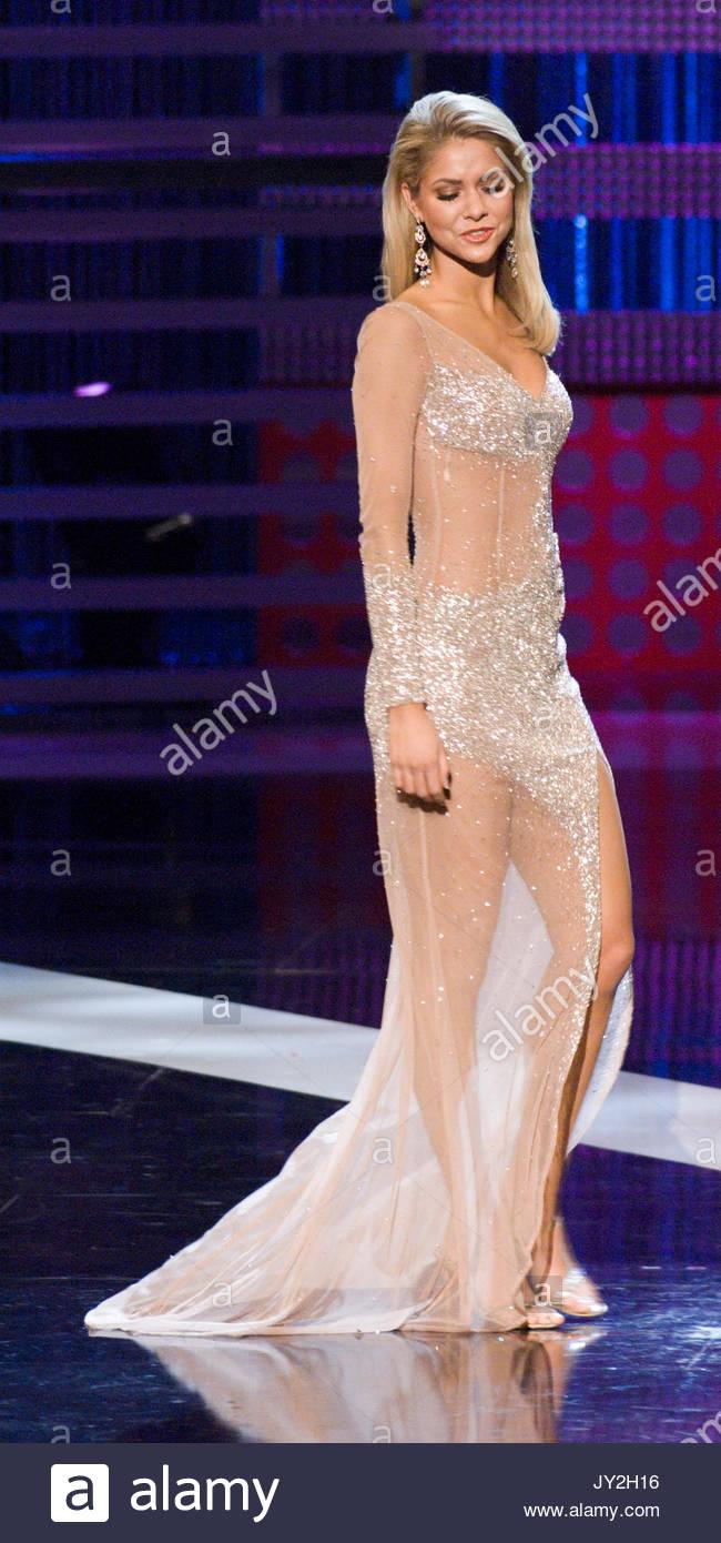 Miss Michigan - Kirsten Haglund, at the Miss America preliminaries ...