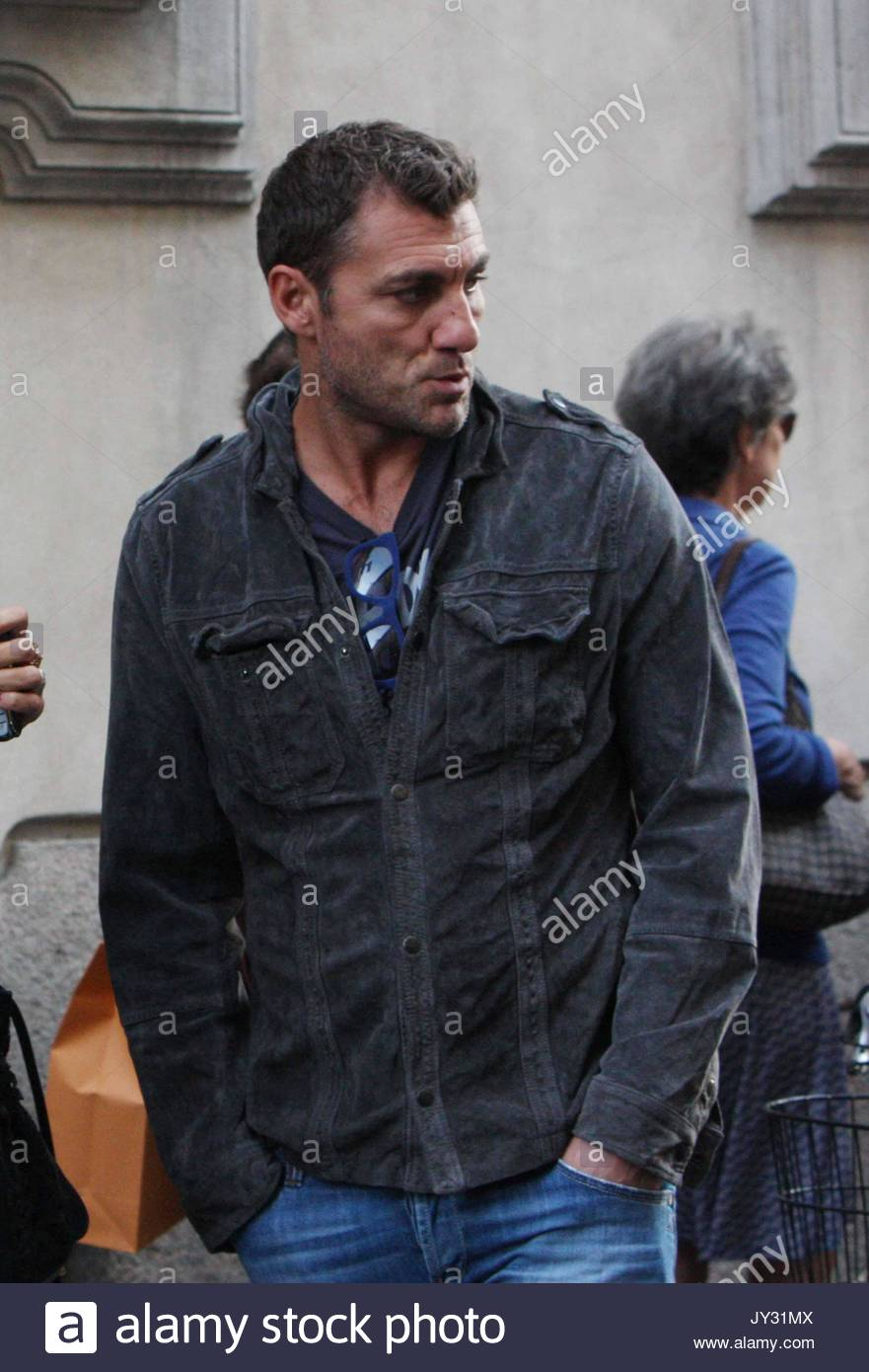 Christian Vieri Christian Vieri out and about in Milan with