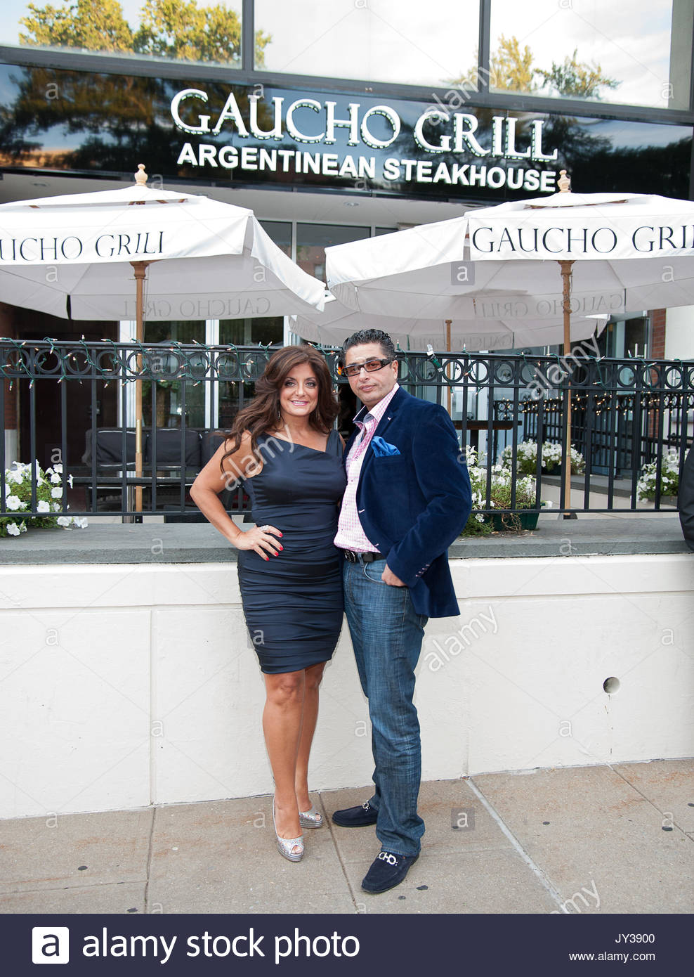 Kathy Wakile And Rich Wakile. Kathy Wakile And Rich Wakile Host An Evening  At Gaucho Grille Argentinean Steakhouse