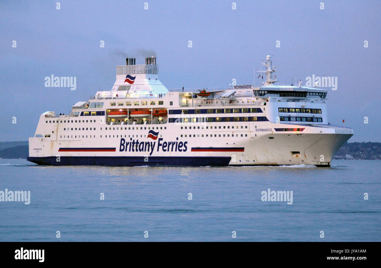 Brittany Ferries Normandie Ship Stock Photos Brittany Ferries