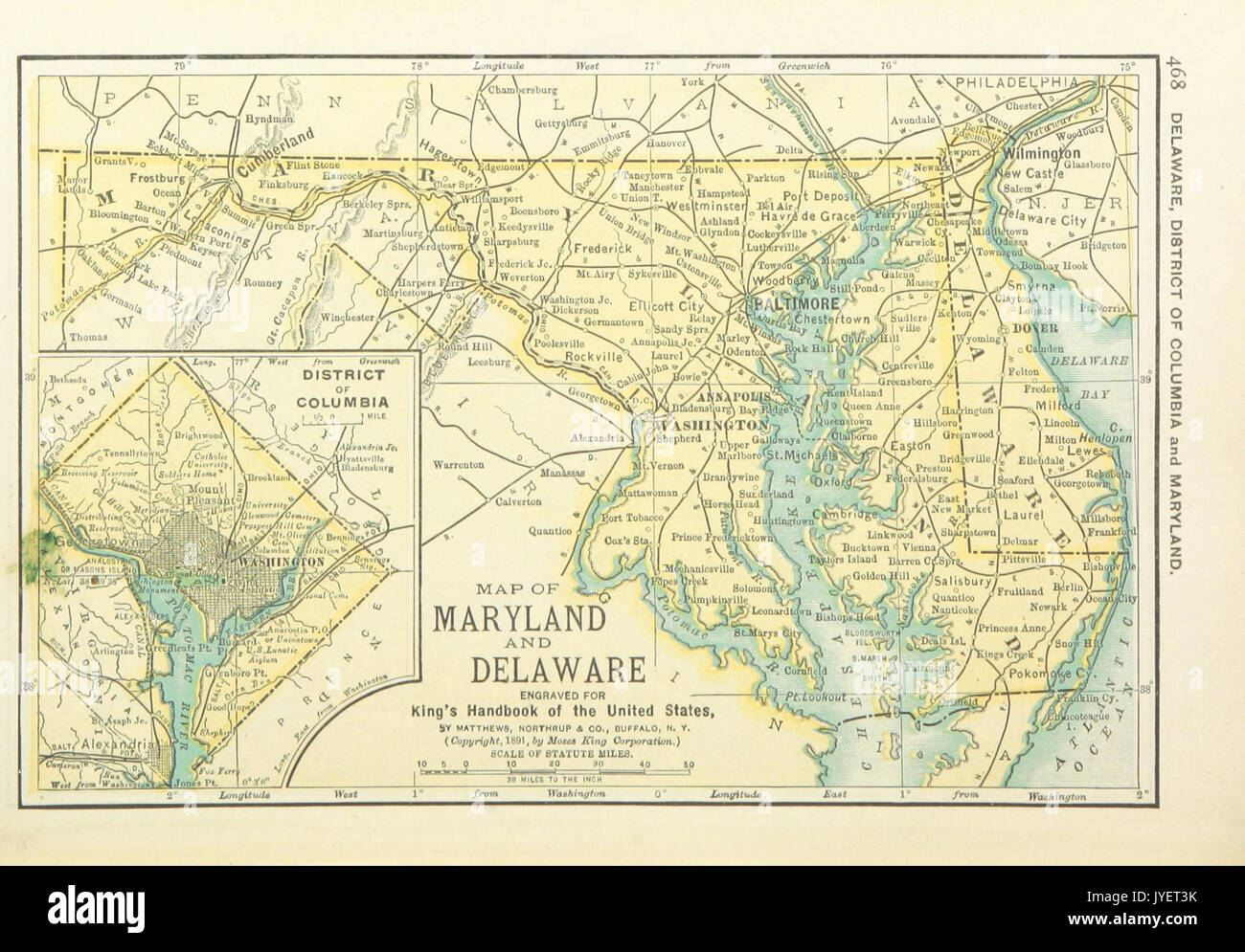 Columbia Us On A Map map of washington d c us maps 1891 p470 map