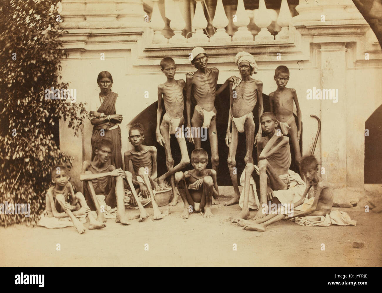 1876 1877 1878 1879 Famine Genocide in British Raj Madras India
