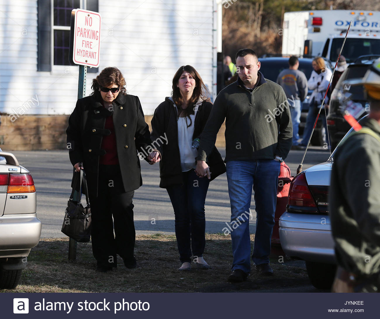 Scenes From Sandy Hook: Sandy Hook Elementary School Victims Stock Photos & Sandy