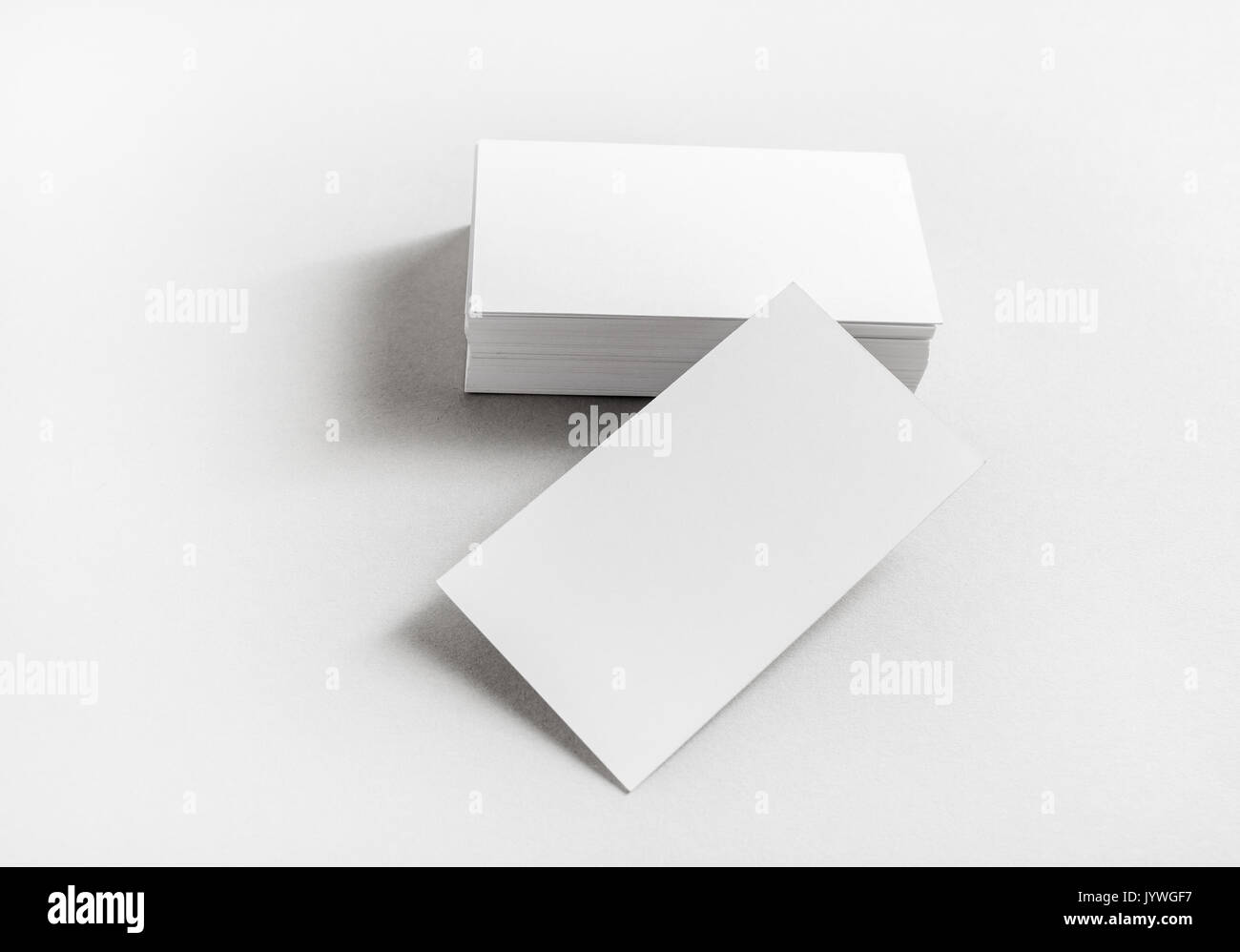 Photo of blank business cards on paper background template for photo of blank business cards on paper background template for branding identity mockup for id studio shot colourmoves