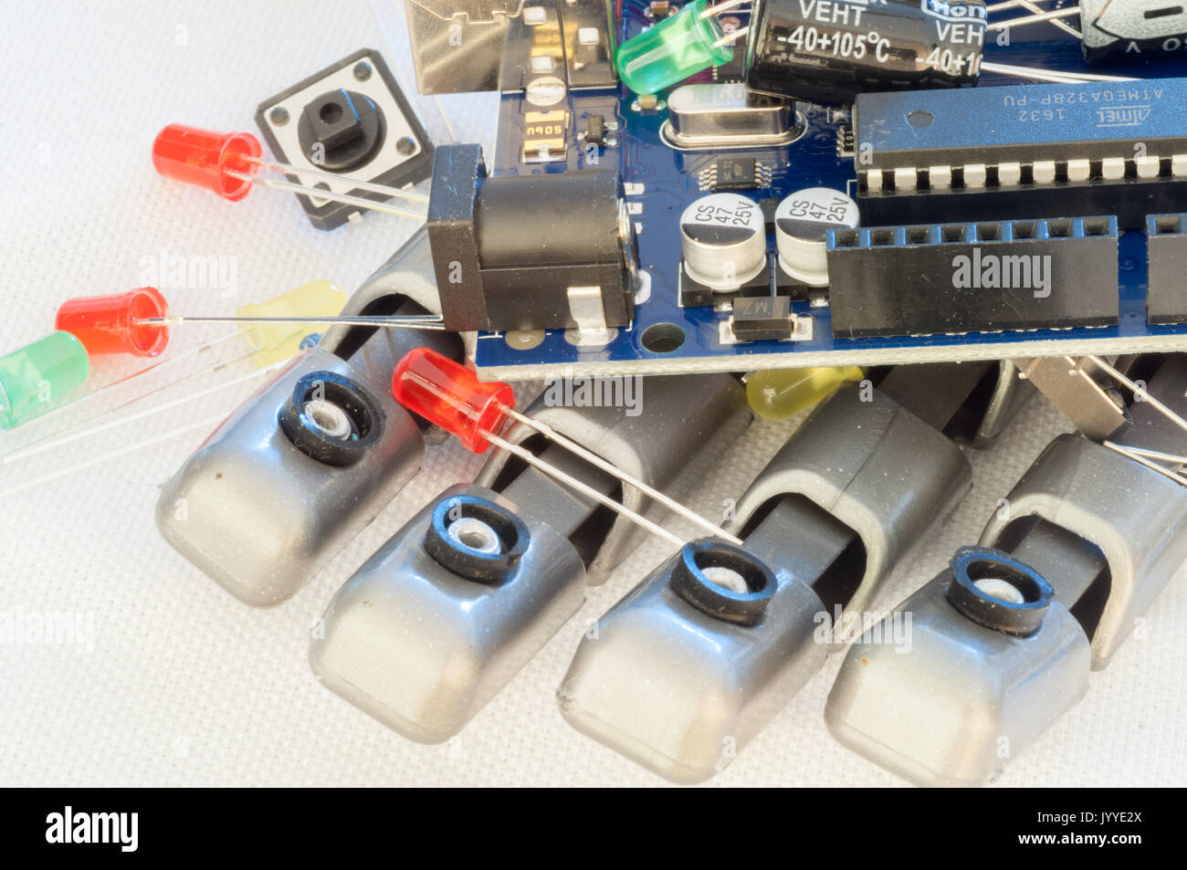 Beautiful Raw Macro Robotics Background Stock Photo 154882418 Alamy