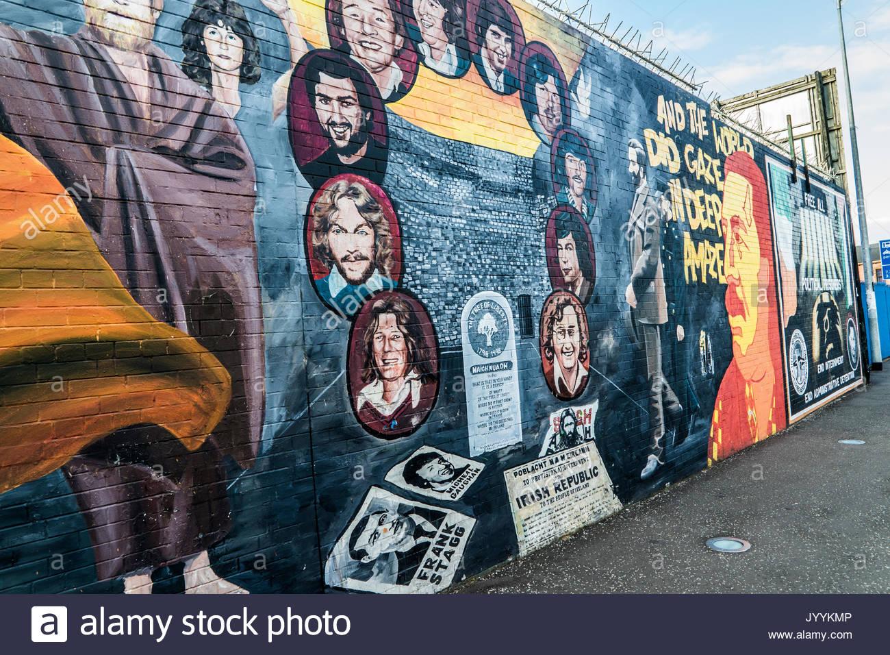 Belfast murals stock photos belfast murals stock images for Mural in belfast
