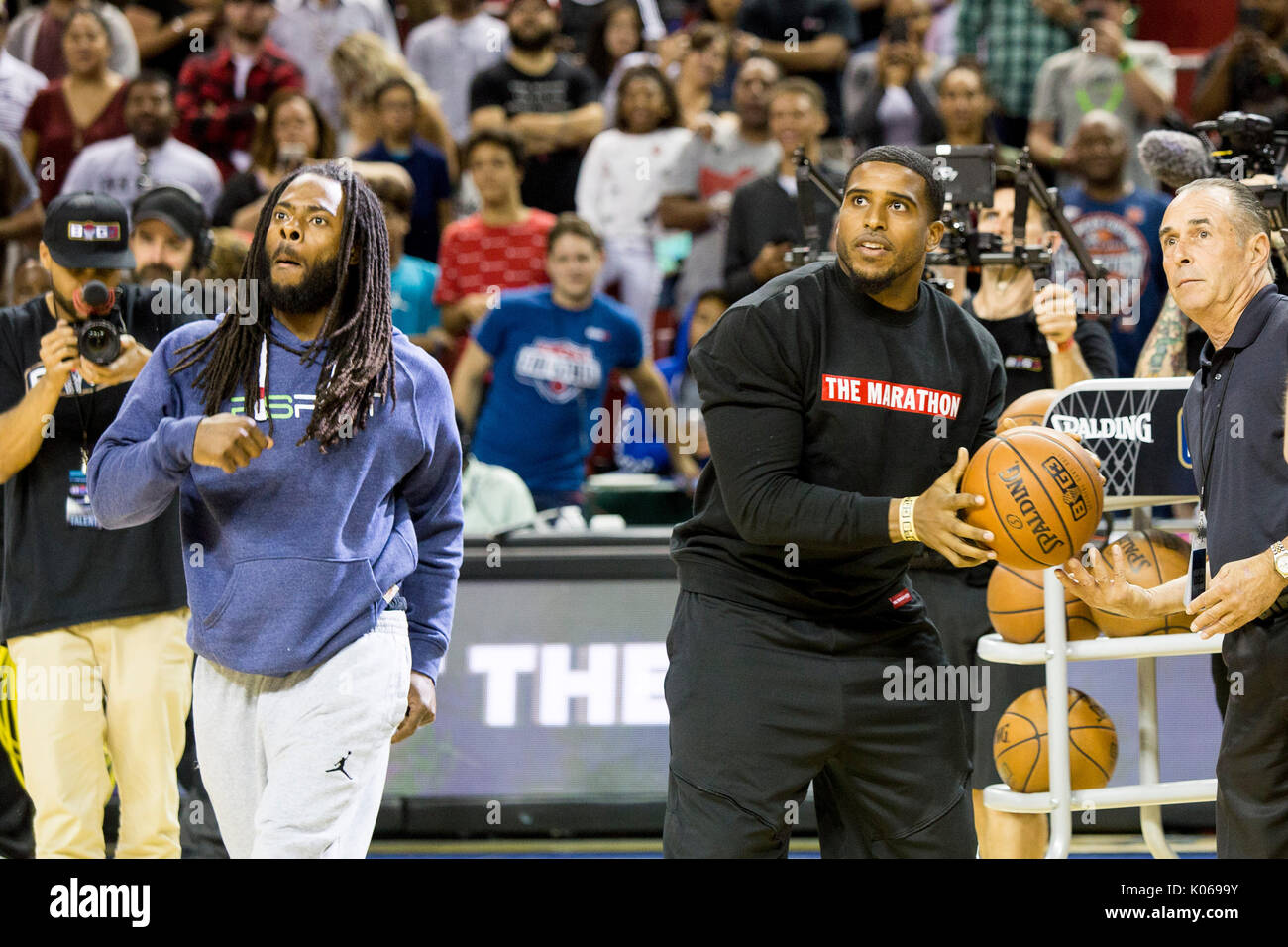 Seattle Seahawks football players Richard Sherman Bobby Wagner