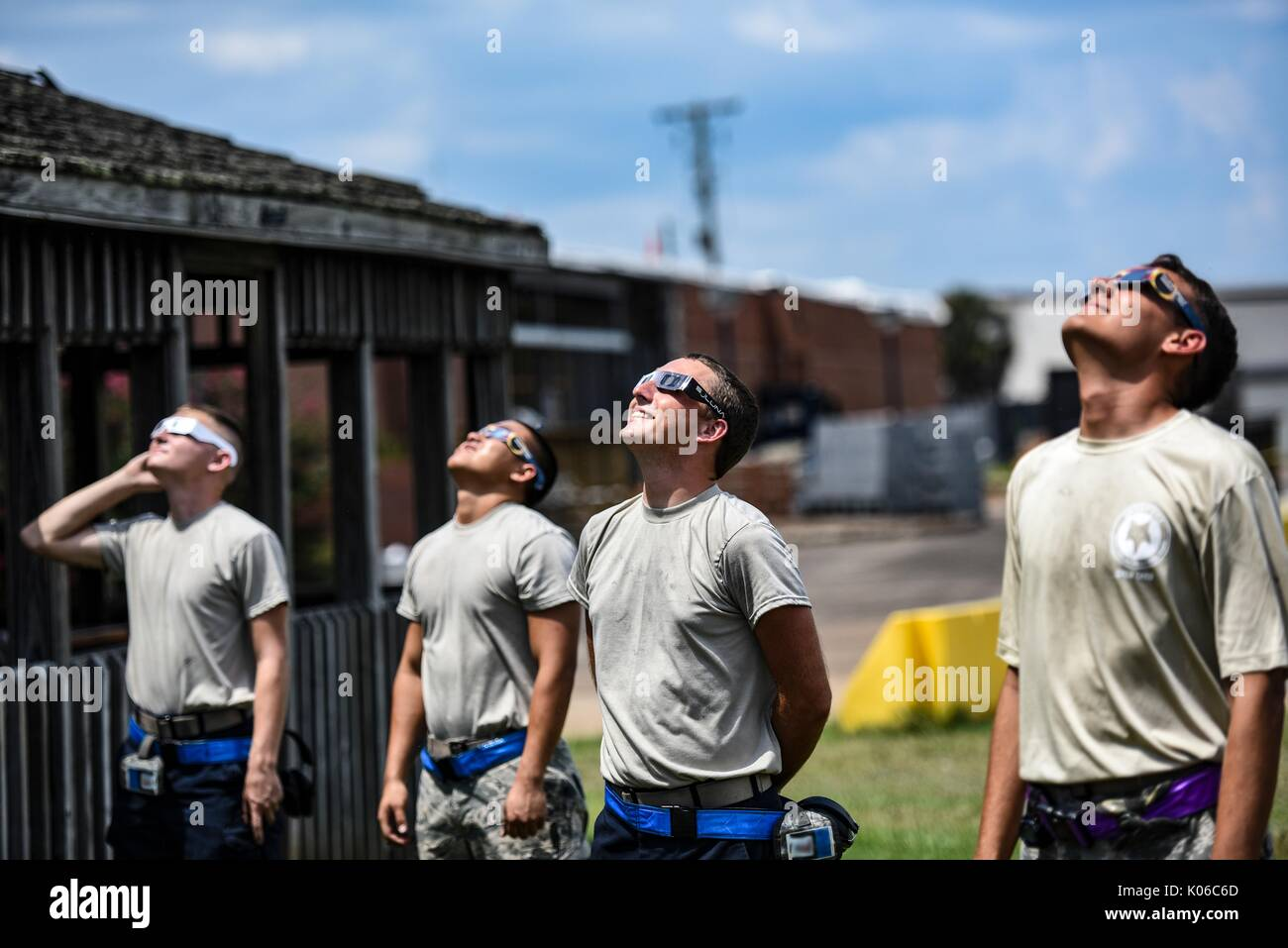 Richland United States Of America 21st Aug 2017 U S Air Force Airmen