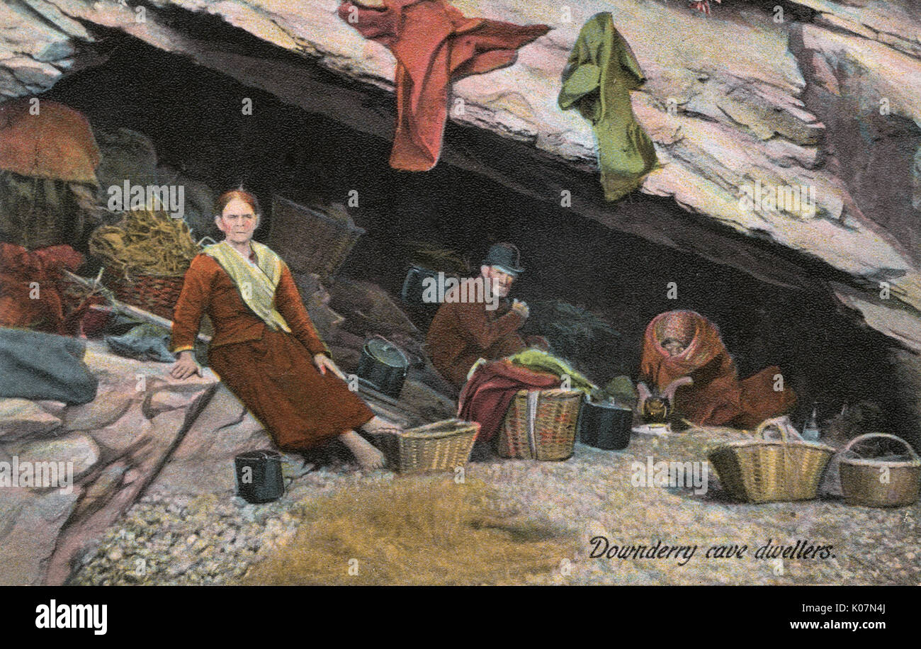 Man Cave Derry : Dwellers stock photos images alamy
