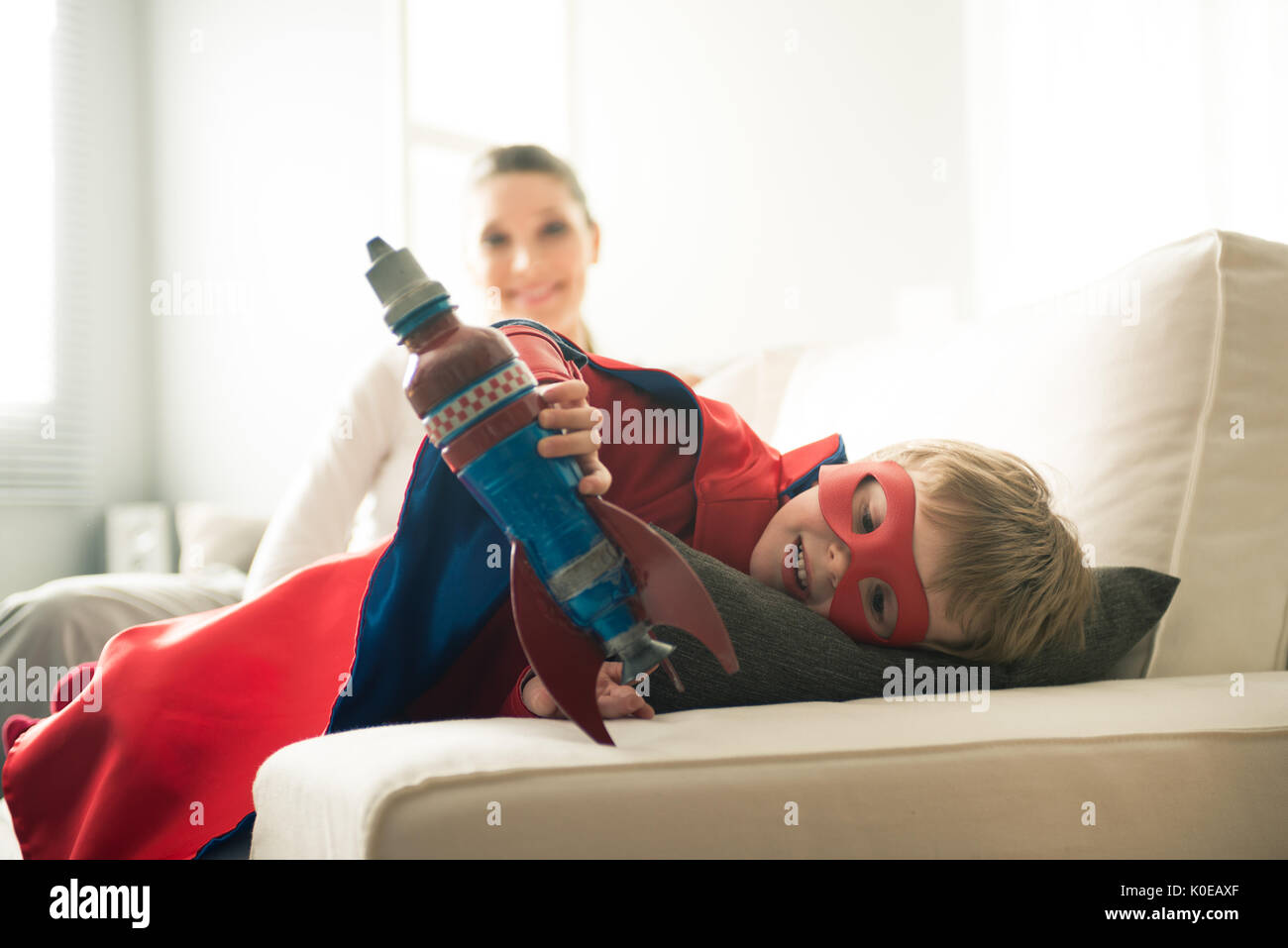 My Superhero Family Stock Photos & My Superhero Family Stock