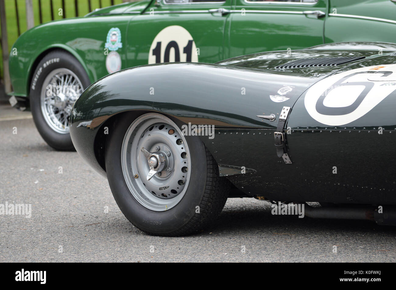 1955 mike hawthorn jaguar d type le mans winning car stock photo royalty free image 155242742. Black Bedroom Furniture Sets. Home Design Ideas