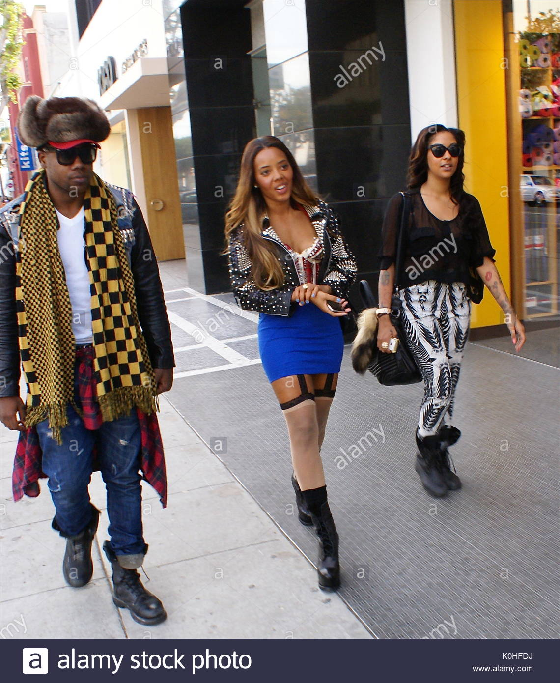 Angela Simmons. Angela Simmons in West Hollywood, the \'Runs House ...