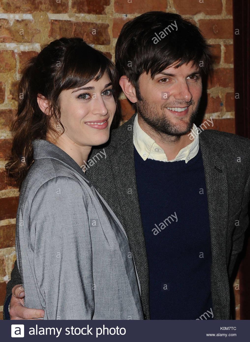 Lizzy caplan dating adam scott