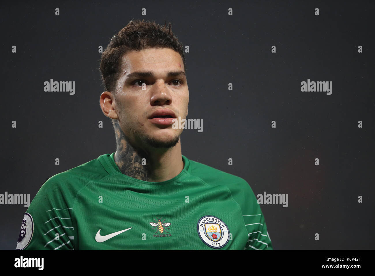 Manchester City goalkeeper Ederson Stock Royalty Free Image
