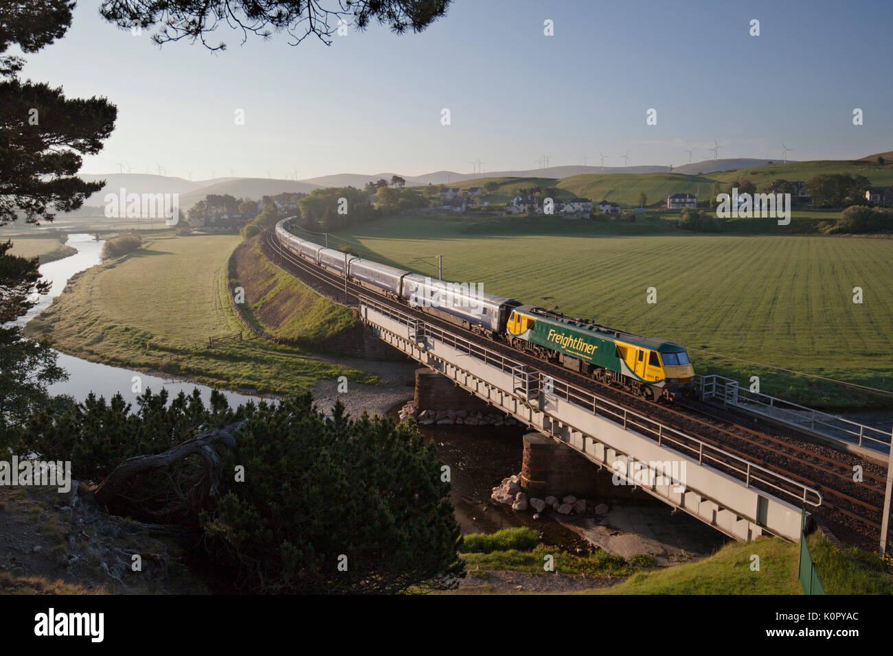 Caledonian Sleeper Train Stock Photos  U0026 Caledonian Sleeper