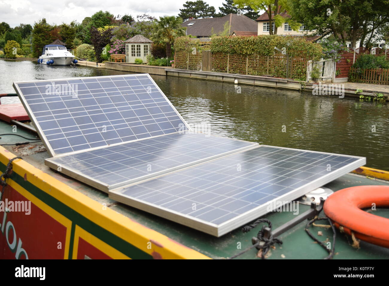 Solar Barge Stock Photos Amp Solar Barge Stock Images Alamy