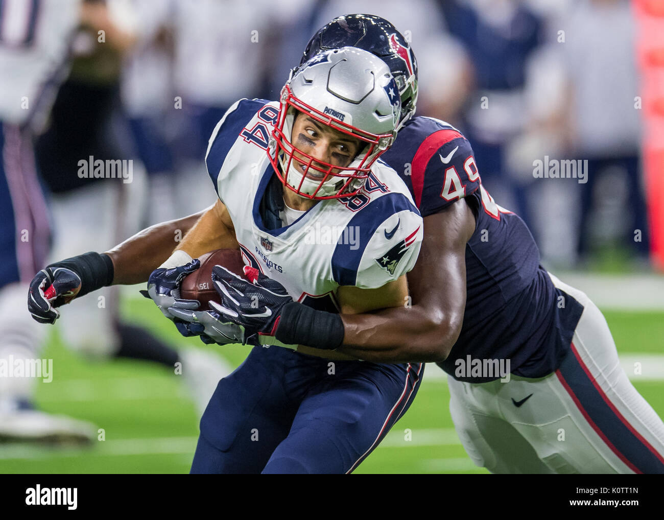 August 19 2017 New England Patriots wide receiver Austin Carr