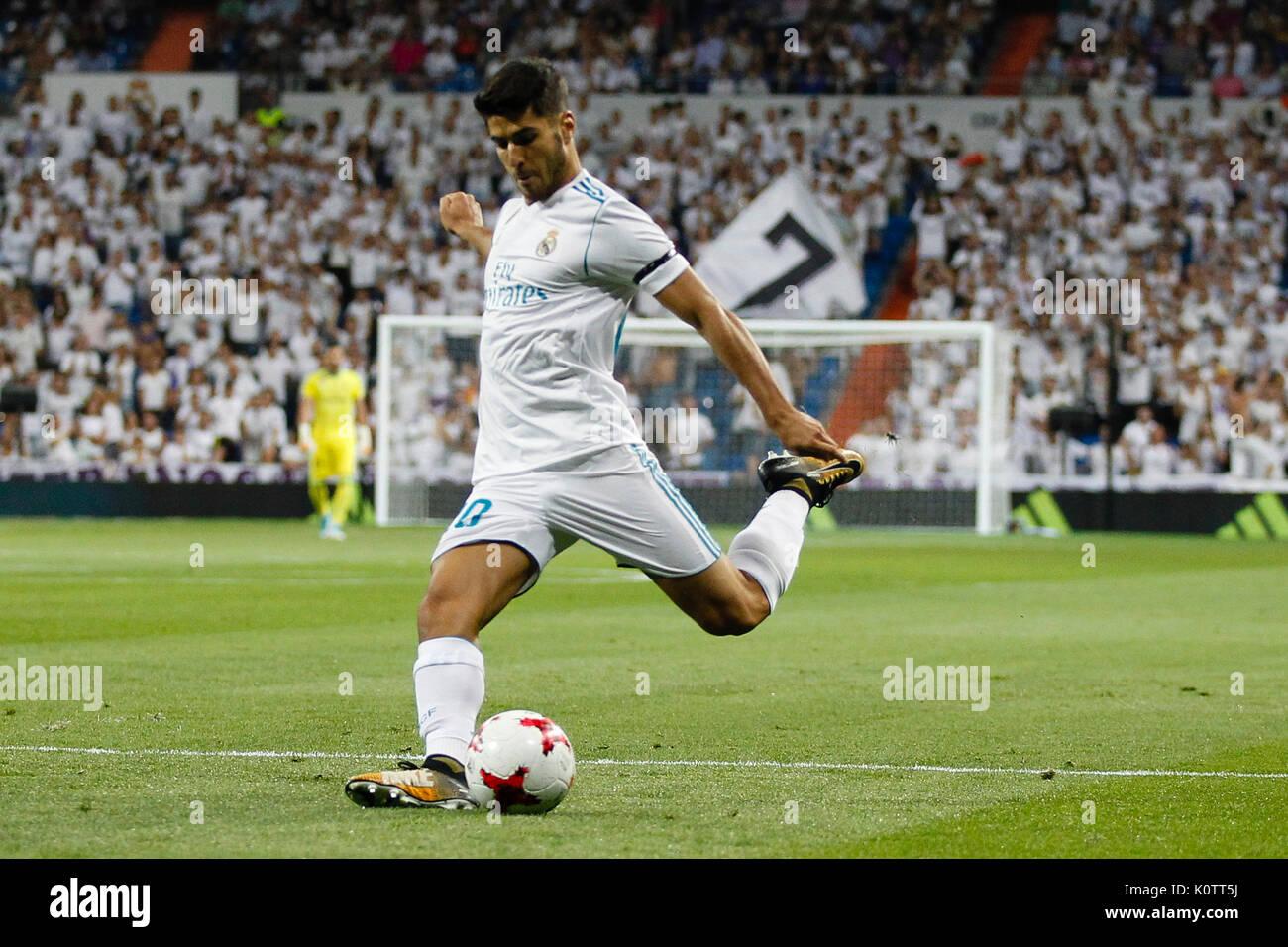 Marco Asensio (20) Real Madrid\'s player. 37th SANTIAGO BERNABEU ...