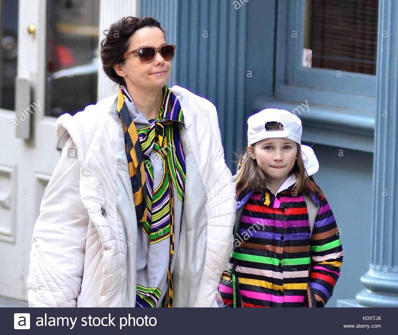 Bjork and Isadora Barney. Bjork and daughter Isadora ...