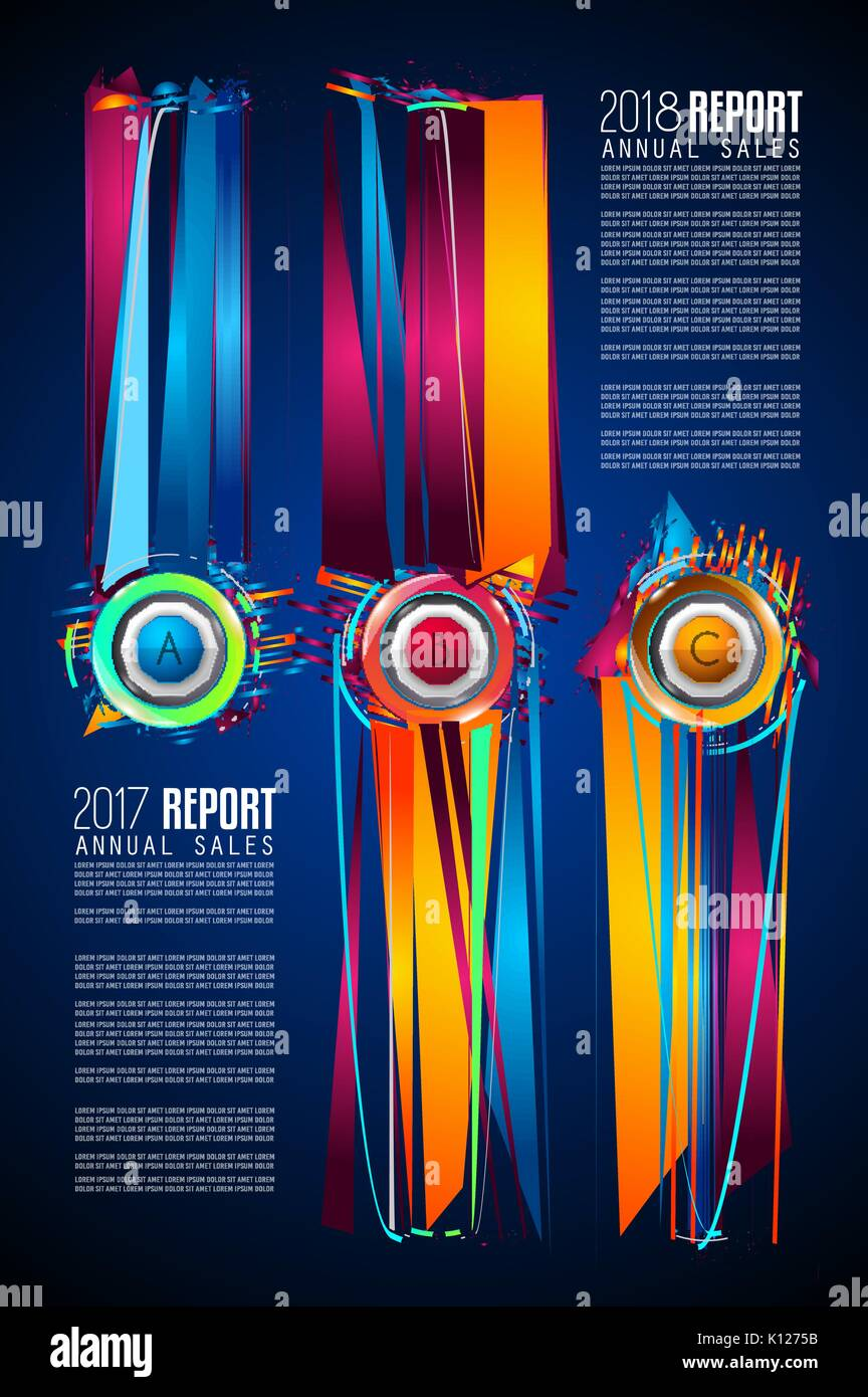 Modern Infographic Brochure Template For Product Ranking Business - Infographic brochure template