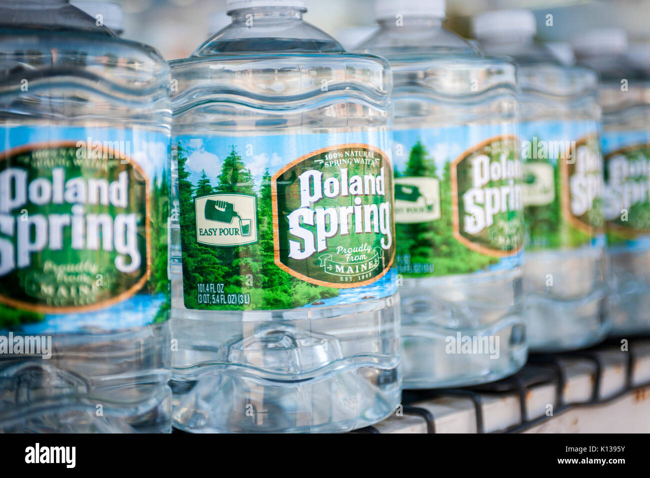 Spring branding stock photos spring branding stock images alamy bottles of poland spring brand water in a supermarket in new york on sunday august biocorpaavc