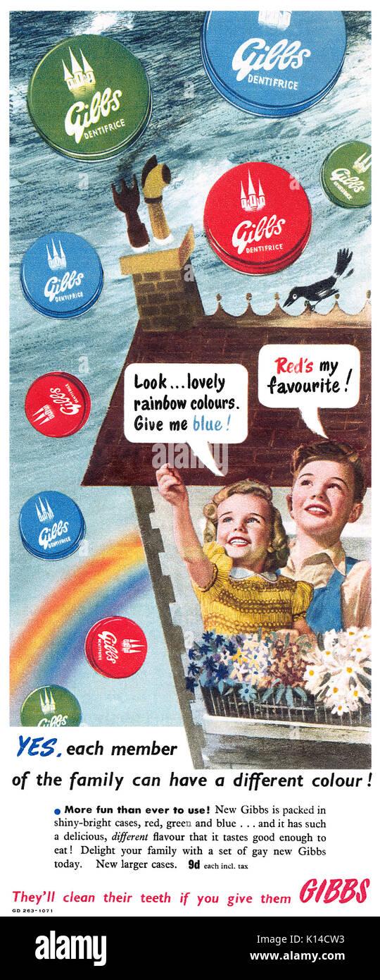 Gibbs Toothpaste Stock Photos & Gibbs Toothpaste Stock ...