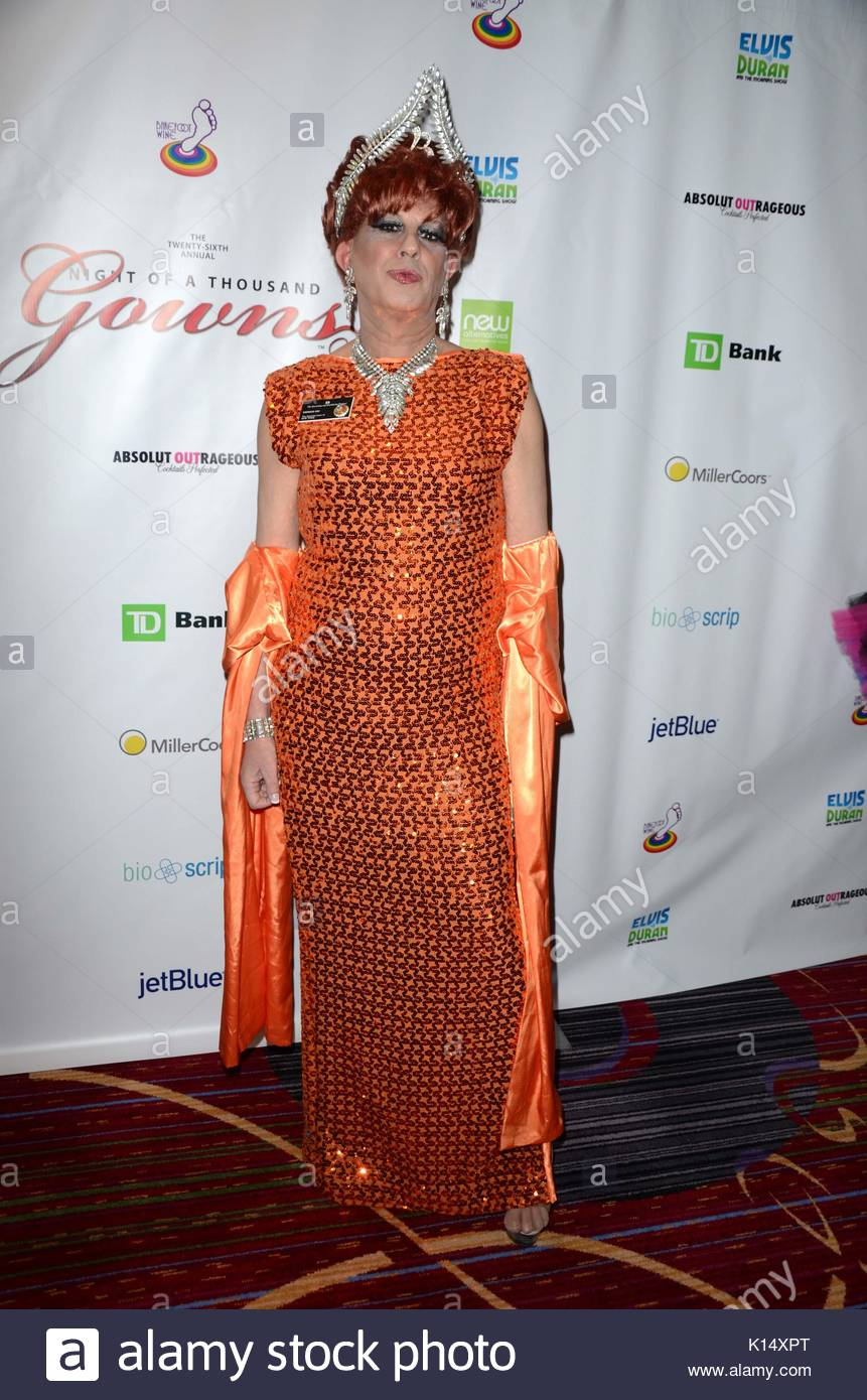 Empress B. Night of 1000 Gowns at the Marriott Marquis in NYC Stock ...