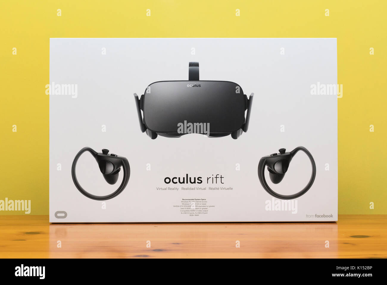 Oculus rift stock options