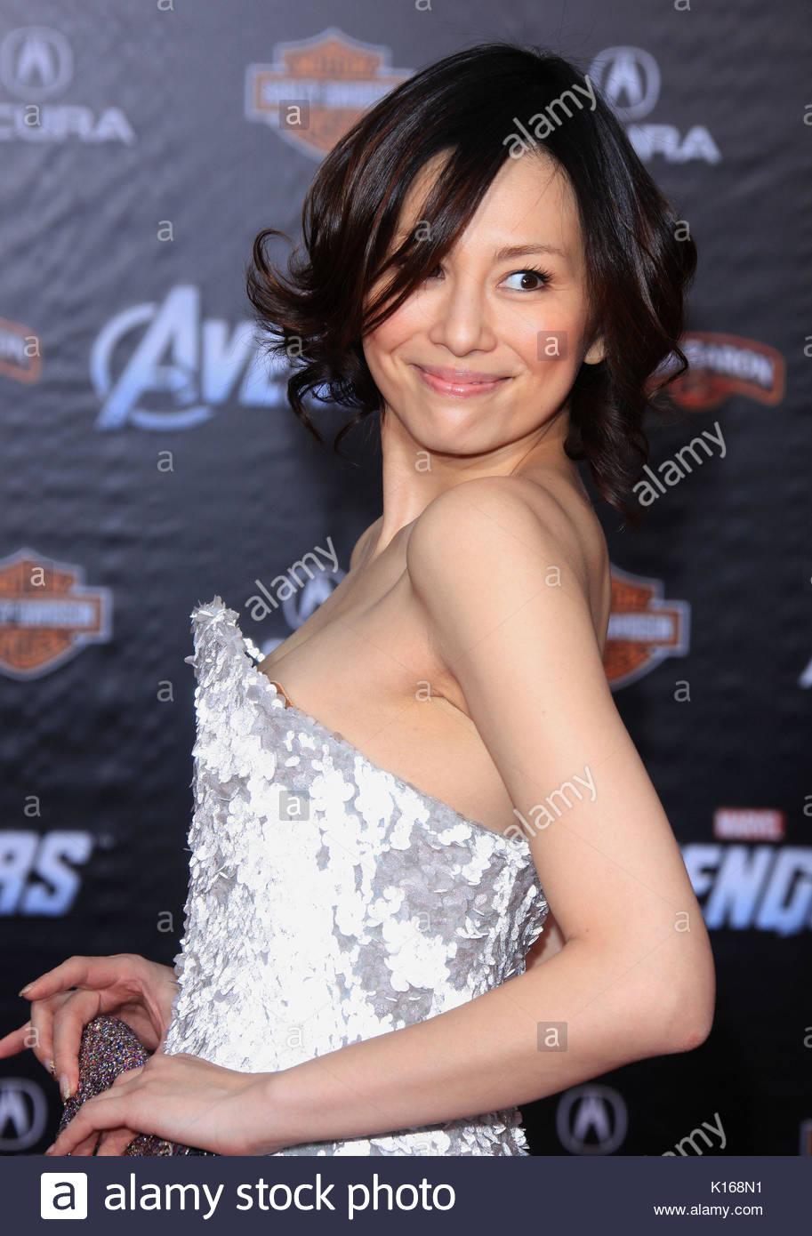 Ryoko Yonekura The Avengers Stock Photos & Ryoko Yonekura ...