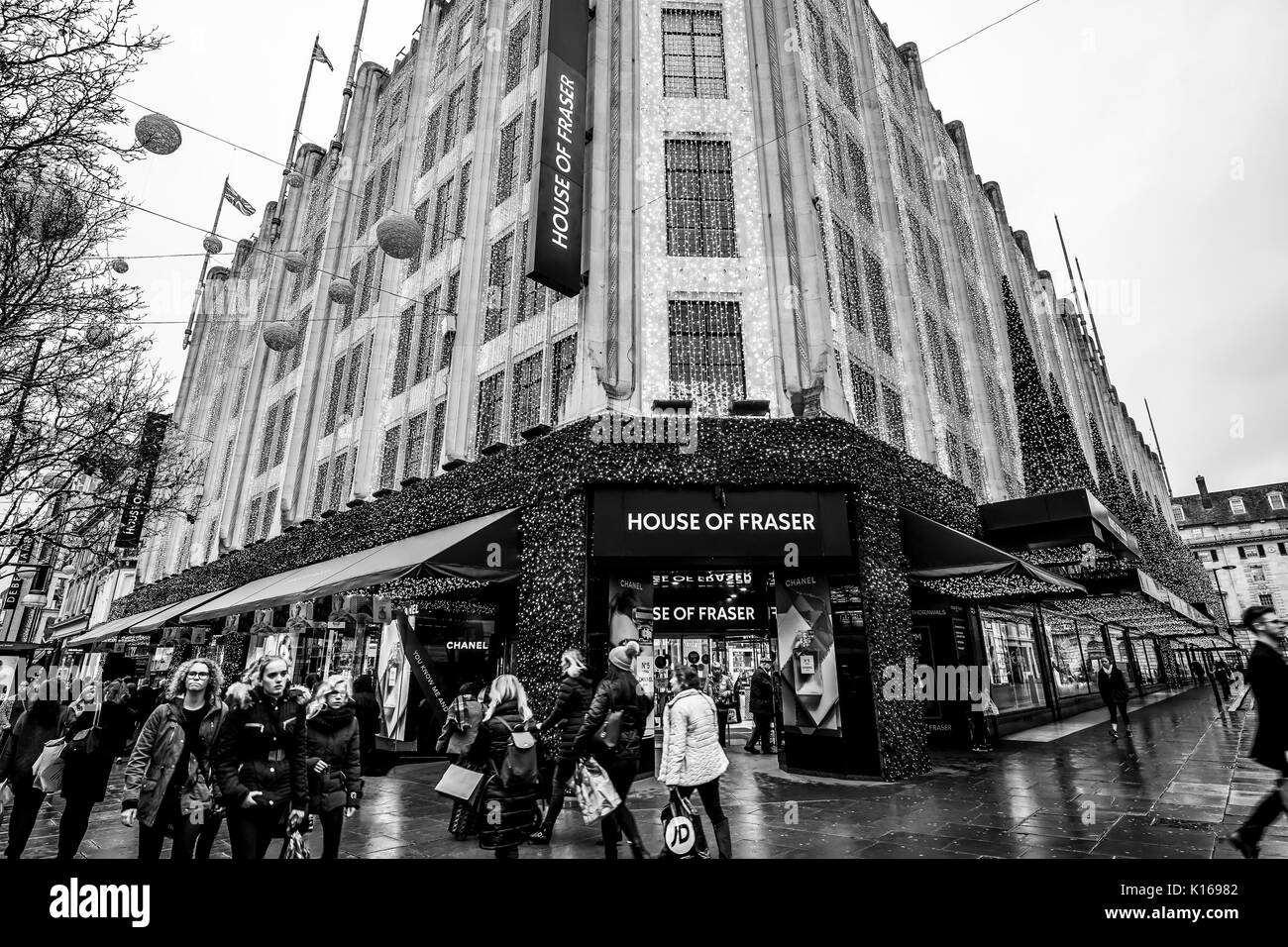 House of fraser oxford stock photos house of fraser for Housse of fraser