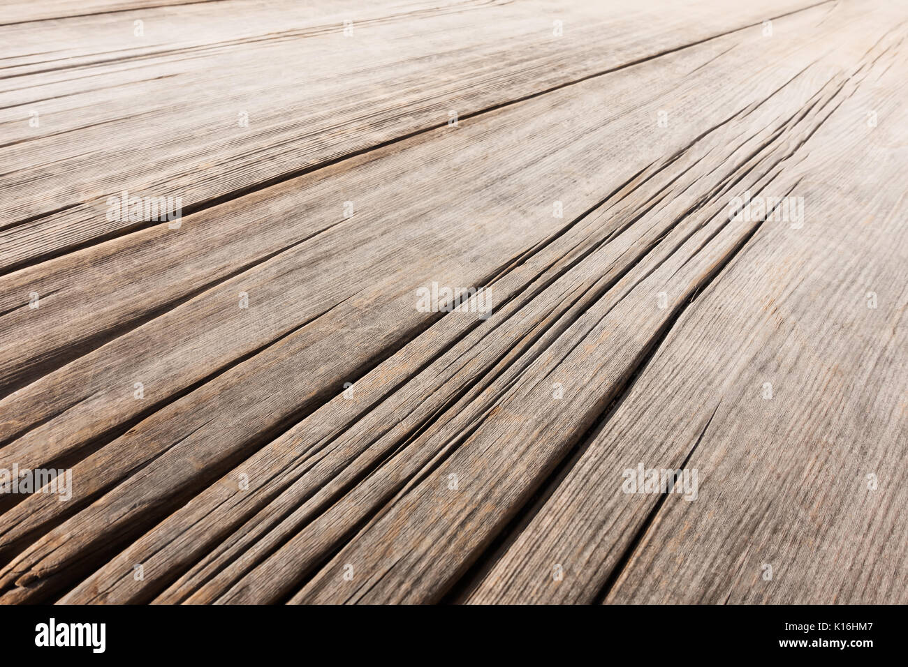 empty old wooden table in perspective wood texture stock photo