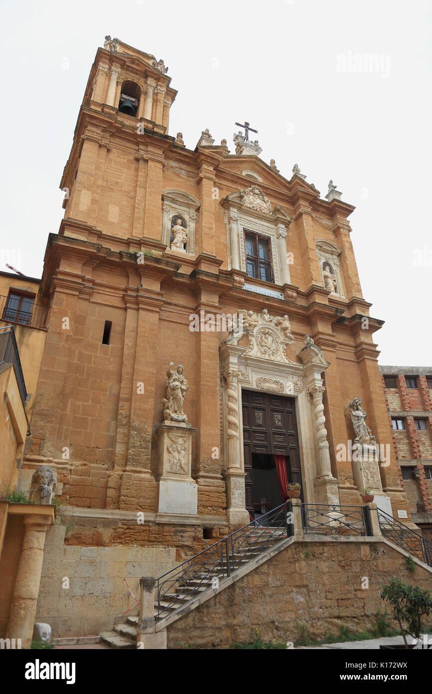 San lorenzo area stock photos san lorenzo area stock images alamy sicily in the old town of agrigento the church of san lorenzo stock dailygadgetfo Choice Image