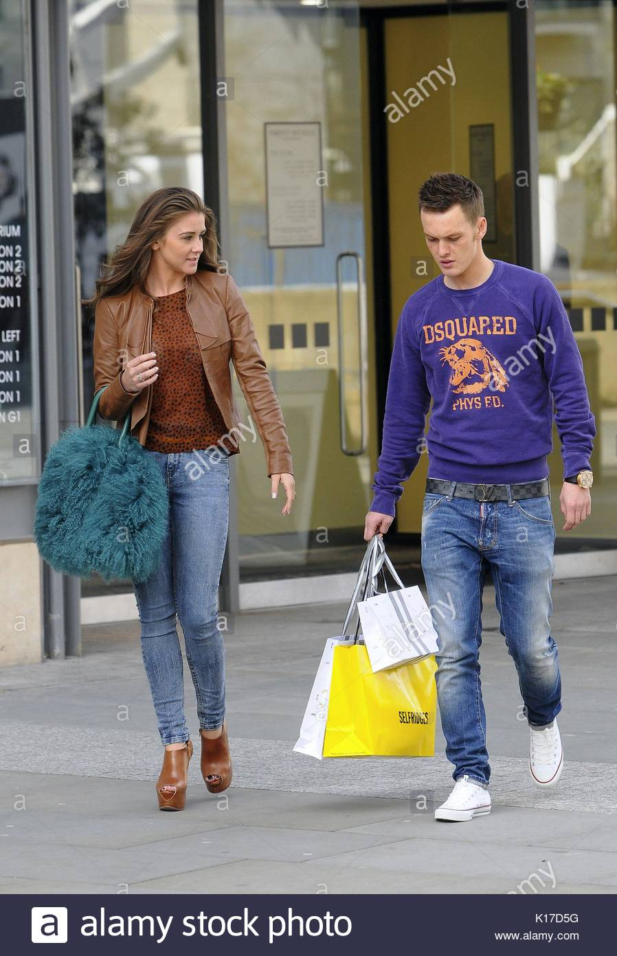 Selfridges Manchester City Centre Shopping Stock Photos ...