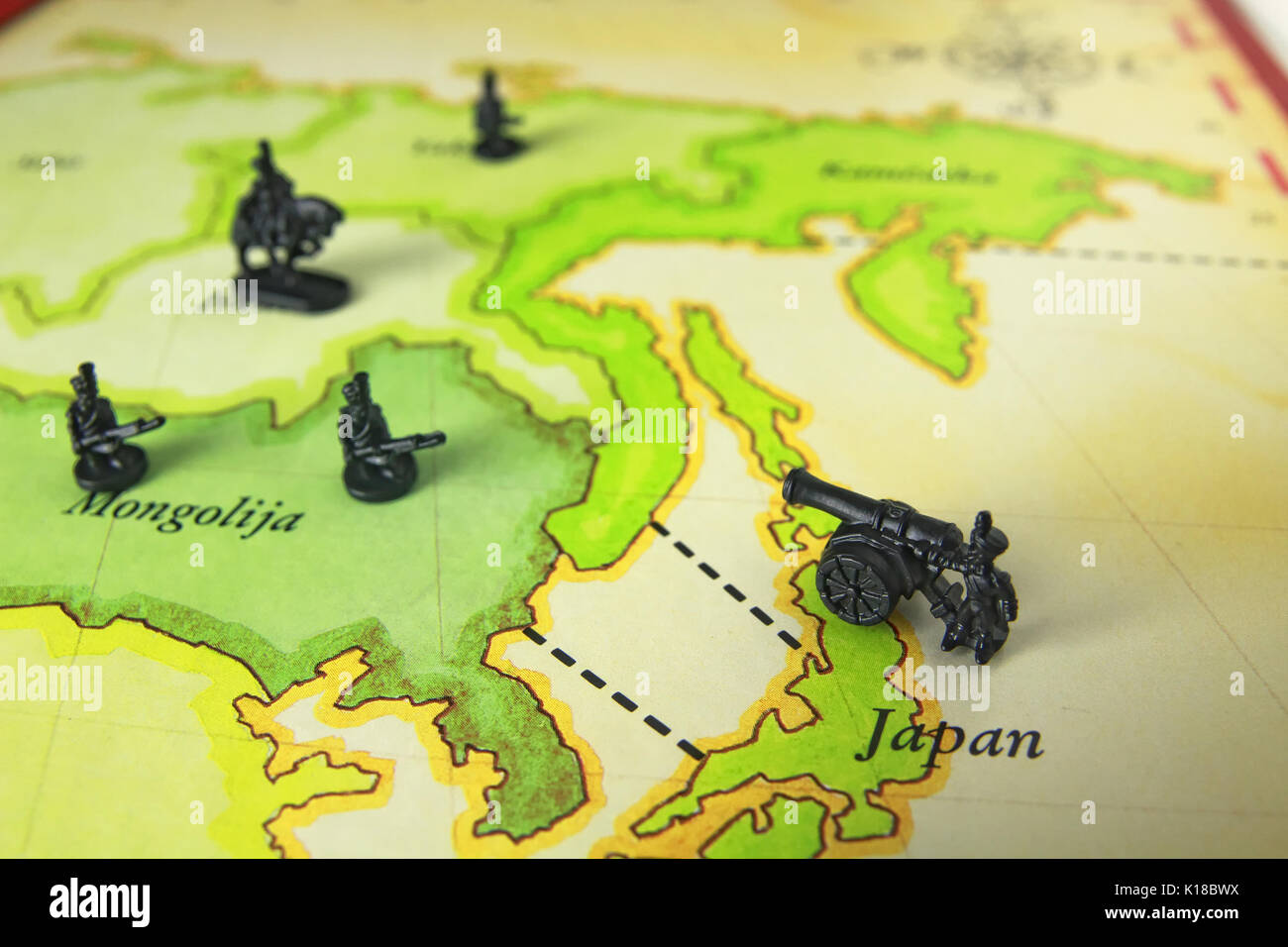 Risk game map stock photos risk game map stock images alamy risk game of war stock image gumiabroncs Image collections