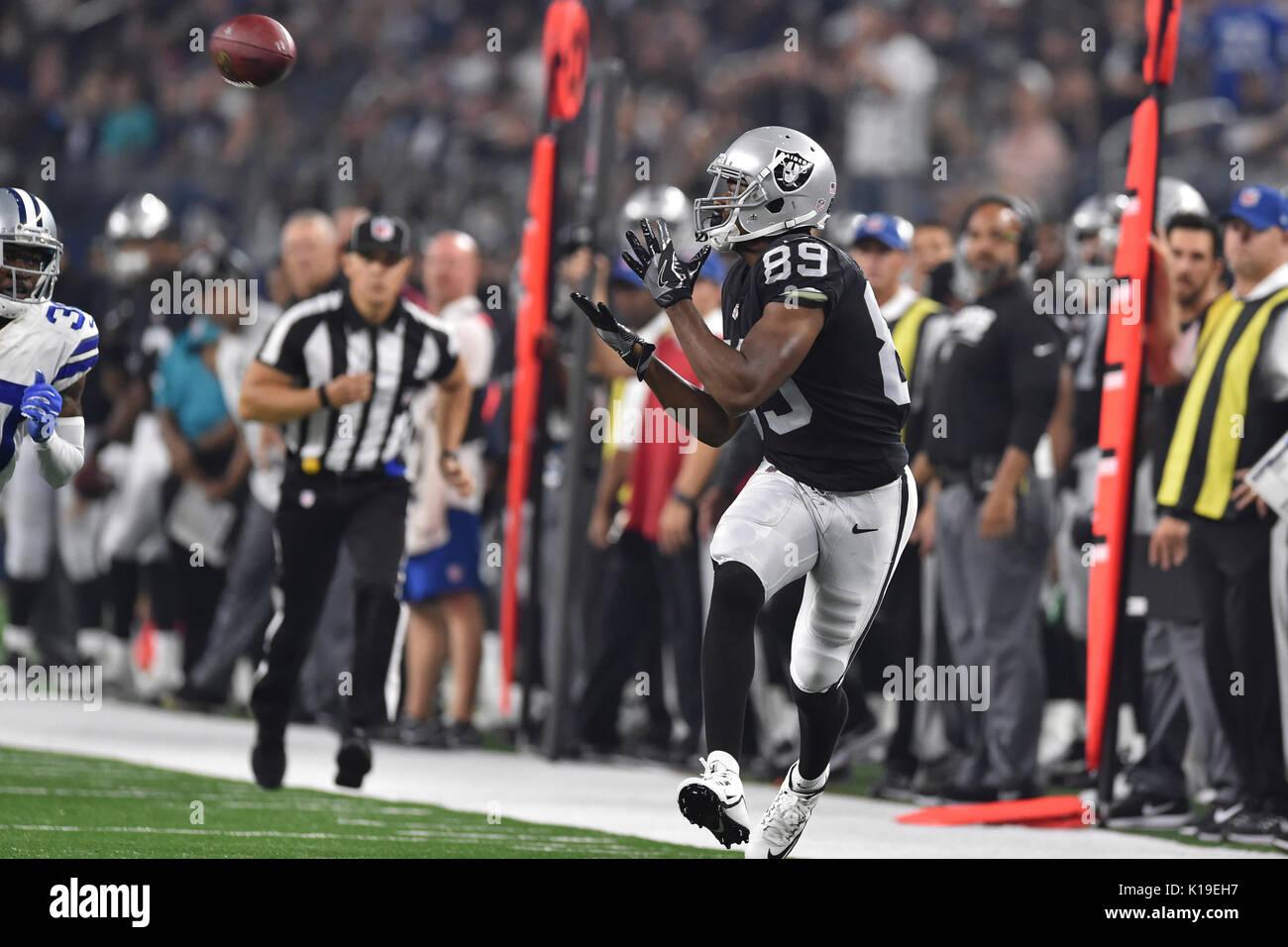 August 26 2017 Oakland Raiders wide receiver Amari Cooper 89