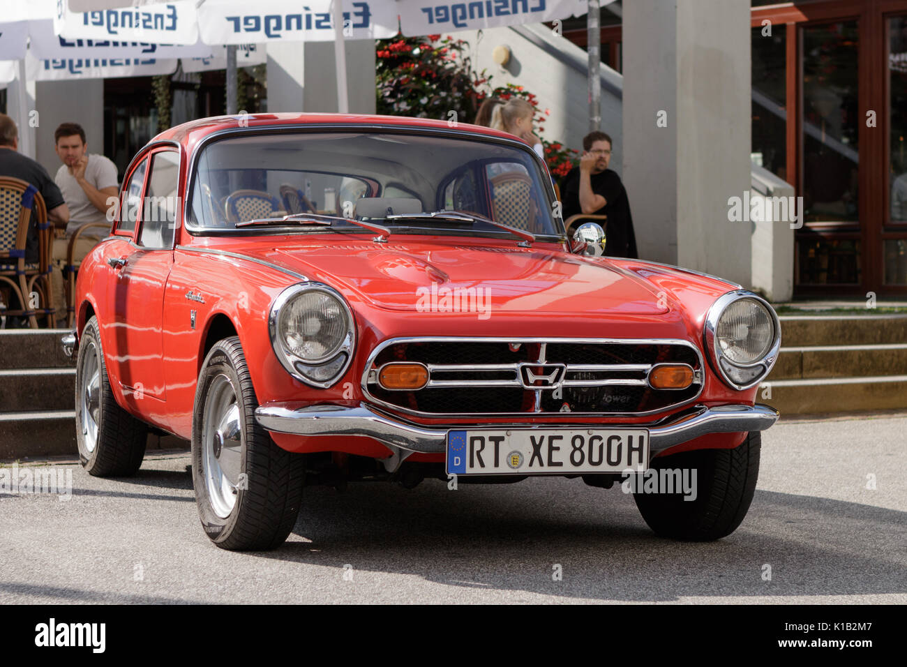Ordinaire Reutlingen, Germany   August 20, 2017: Honda S 800 Oldtimer Car At The
