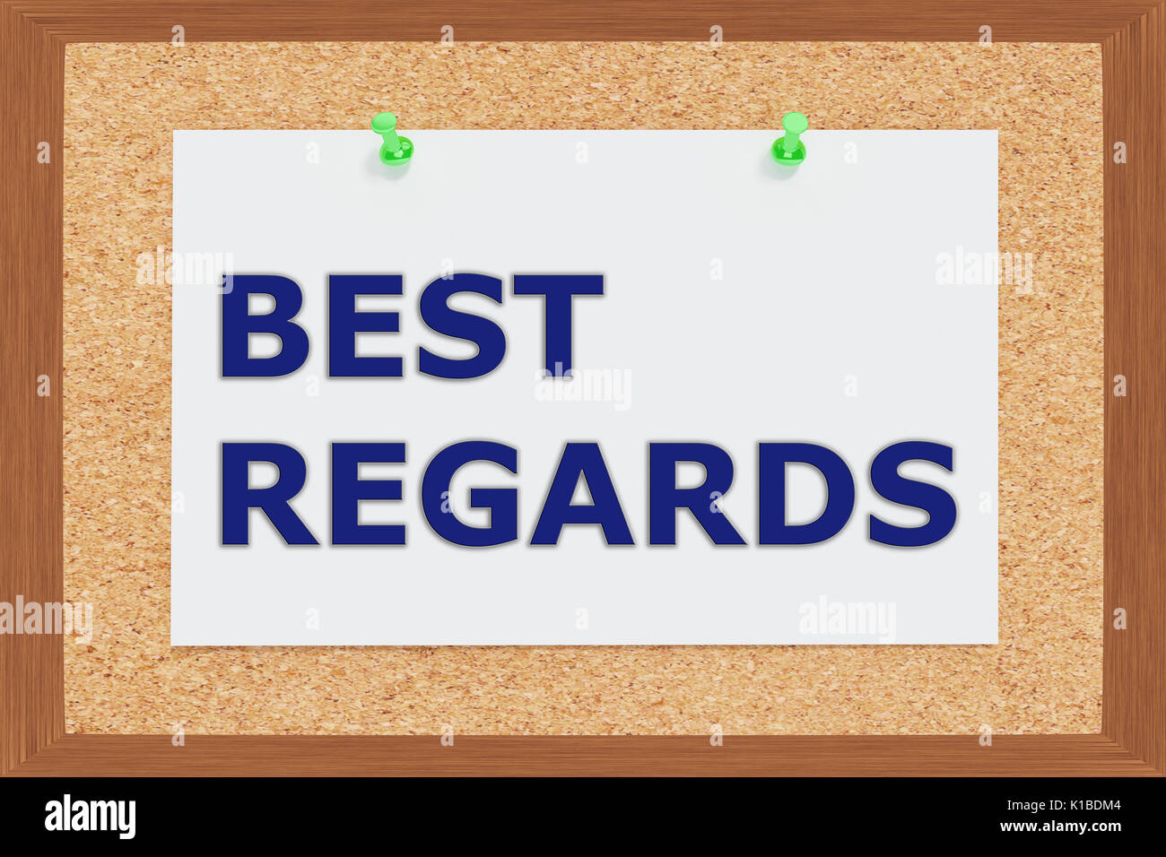 Congratulations sign template 28 images sample of sworn statement congratulations letter banner stock photos congratulations render illustration of best regards title on cork board k1bdm4 pronofoot35fo Images