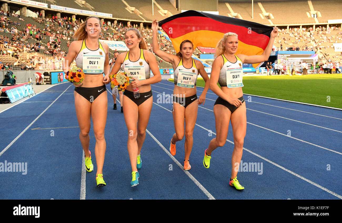 Womens 4x100 Relay Stock Photos Amp Womens 4x100 Relay Stock