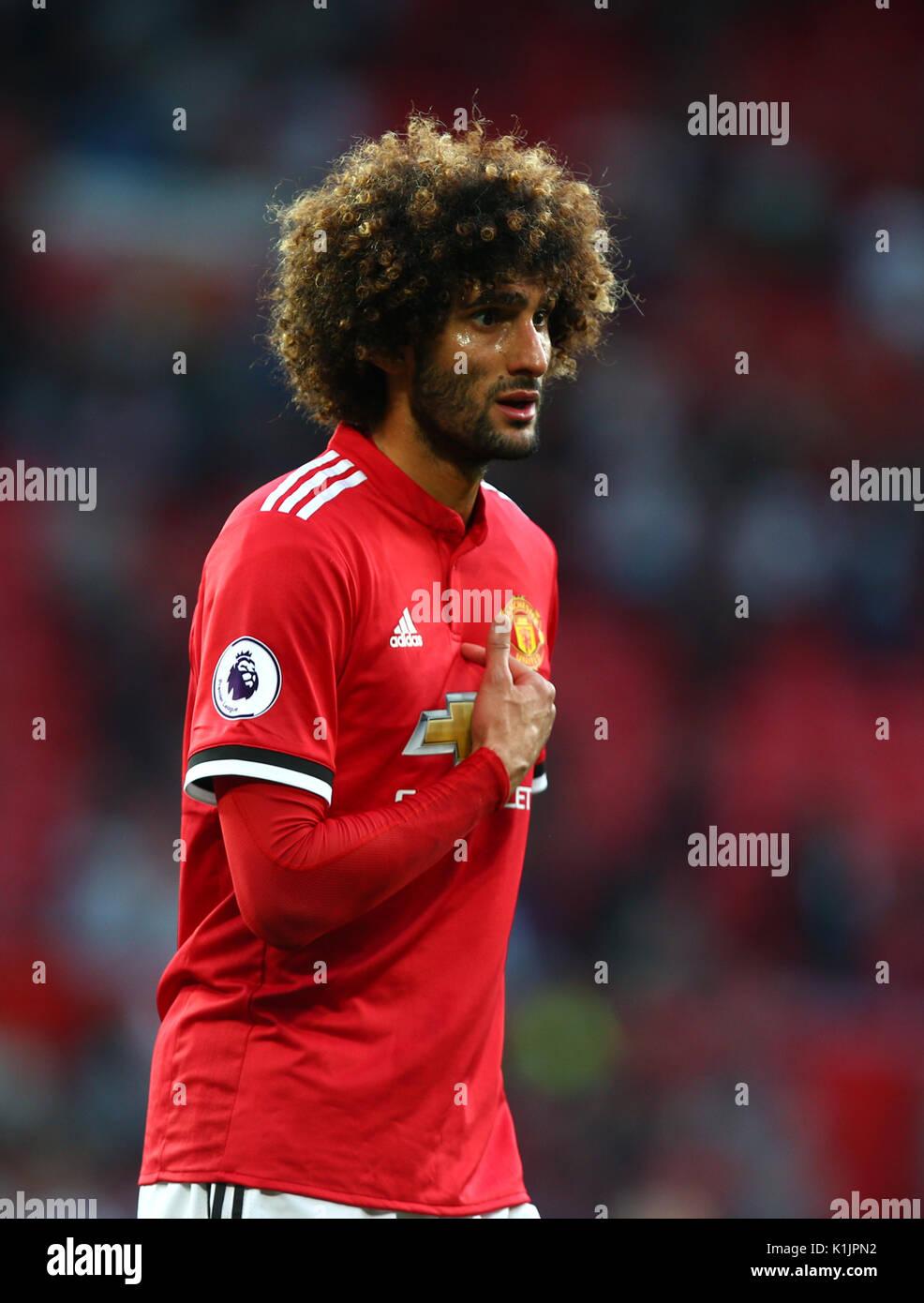 Manchester Uniteds Marouane Fellaini During Stock s