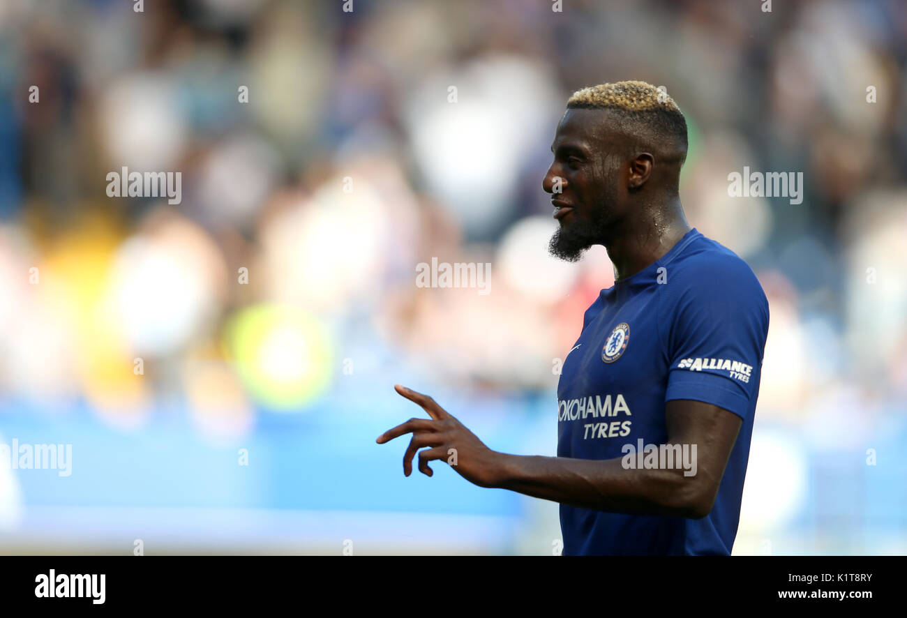 Chelsea s Tiemoue Bakayoko during the Premier League match at